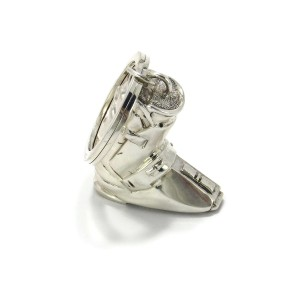 Tiffany & Co. Long Top Large Sterling Silver Boot Key Charm Holder