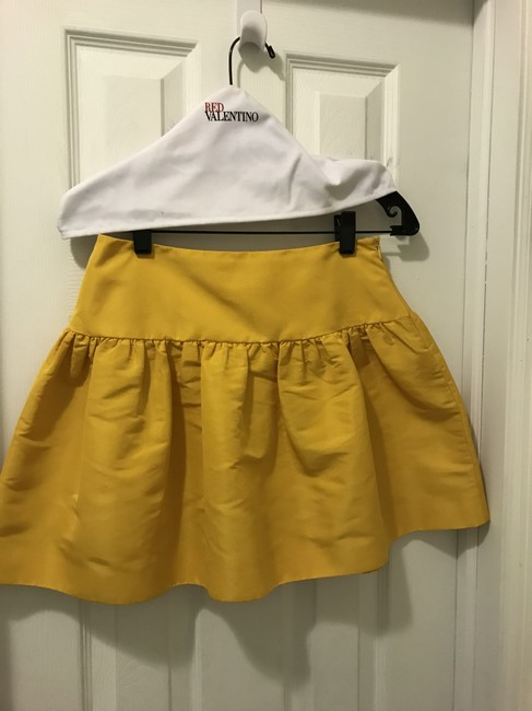 Red Valentino short dress White Top Yellow Skirt on Tradesy Image 3