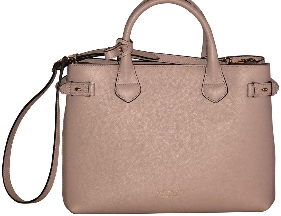 401d1a1804c0 Burberry Derby Pale Orchid Leather Tote - Tradesy