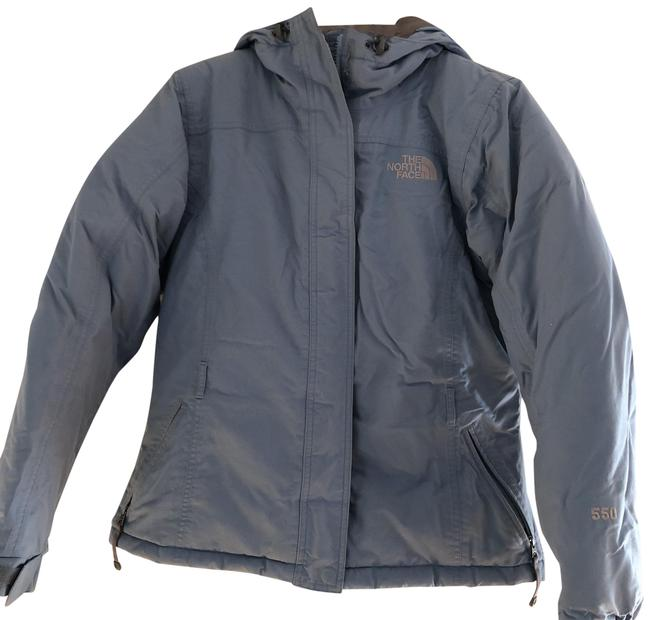 4a44bfe31d The North Face Blue with Grey Lining. Rn  61661 Coat Size 8 (M ...