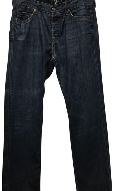 Item - Distressed Standard Straight Leg Jeans Size OS (one size)