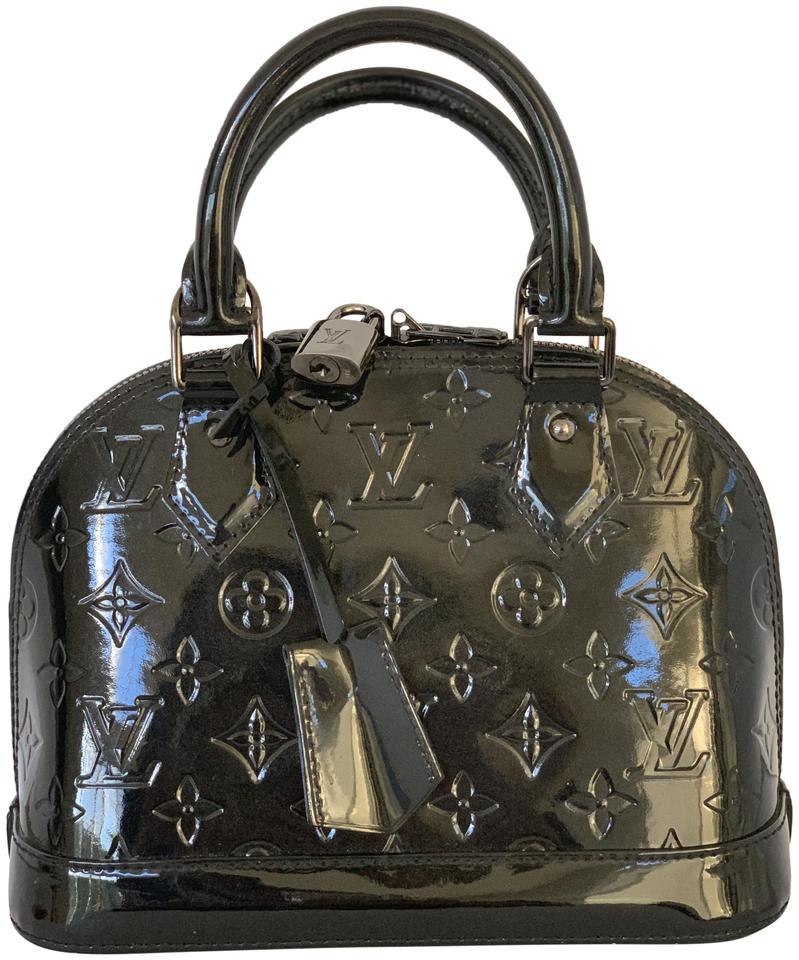 9a10f663d021 Louis Vuitton Alma Bb Limited Edition So Monogram Vernis Black ...