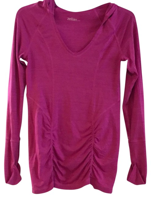 Item - Pink Hooded Activewear Top Size 0 (XS)