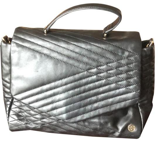 Preload https://img-static.tradesy.com/item/24838076/tory-burch-quilted-lambskin-black-leather-satchel-0-1-540-540.jpg