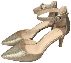 Kelly & Katie Gold Pumps