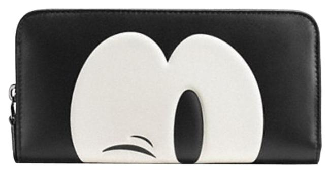 Item - Black/White X Disney Limited Special Edition Accordion Zip Phone Case Wallet