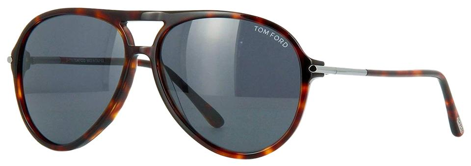 aa1542aa719ba Tom Ford New Tom Ford Matteo FT0254 254 54A Red Havana Sunglasses 59mm  Image 0 ...