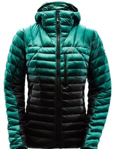 The North Face Green and Black Jacket