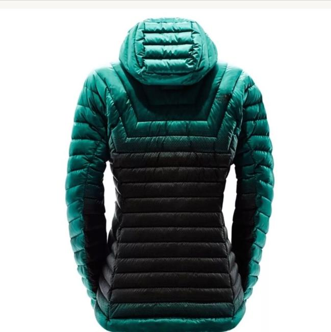 The North Face Green and Black Jacket Image 1