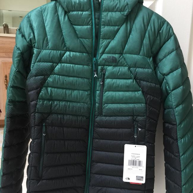 The North Face Green and Black Jacket Image 5