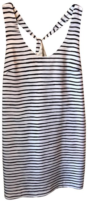Preload https://img-static.tradesy.com/item/24838890/jcrew-white-and-black-striped-mid-length-short-casual-dress-size-12-l-0-1-650-650.jpg
