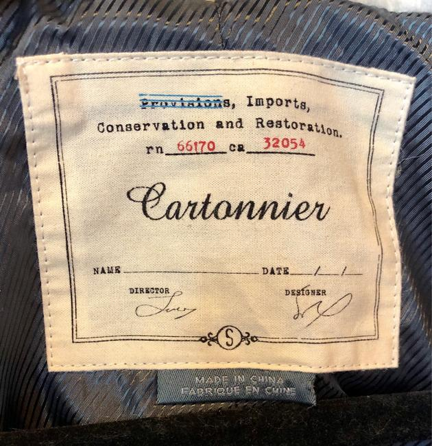 Cartonnier Wool Polyester Trench Coat Image 4