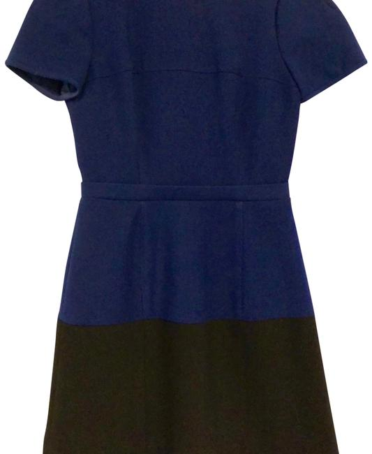 Preload https://img-static.tradesy.com/item/24839047/bcbgmaxazria-orient-blue-and-black-hannah-mid-length-workoffice-dress-size-4-s-0-2-650-650.jpg