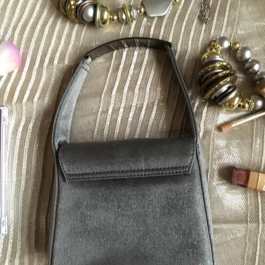 Kenneth Cole Reaction Silver/Gray Clutch Image 2
