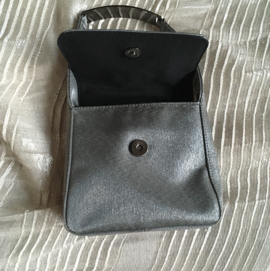 Kenneth Cole Reaction Silver/Gray Clutch Image 4