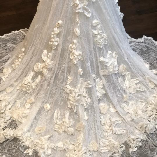 Anais Collezioni Ivory Coco #an149 Feminine Wedding Dress Size 4 (S) Image 1