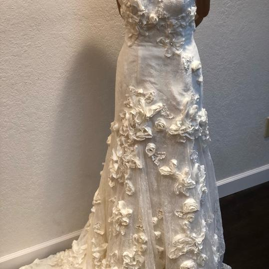 Anais Collezioni Ivory Coco #an149 Feminine Wedding Dress Size 4 (S) Image 5