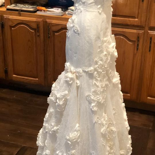 Anais Collezioni Ivory Coco #an149 Feminine Wedding Dress Size 4 (S) Image 8