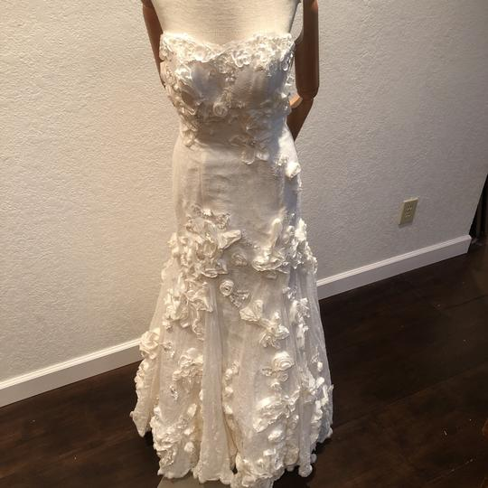 Anais Collezioni Ivory Coco #an149 Feminine Wedding Dress Size 4 (S) Image 9