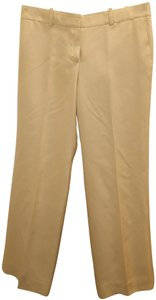 Chloé Silk Trouser Pants Ivory
