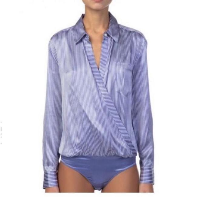 T by Alexander Wang Top blue Image 2