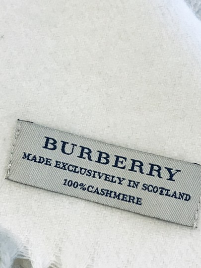 Burberry Embroidery cashmere scarf Image 1