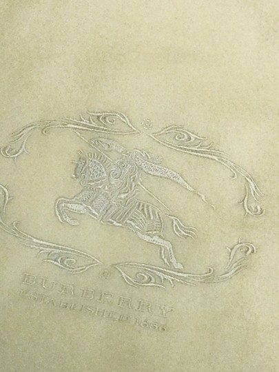 Burberry Embroidery cashmere scarf Image 4