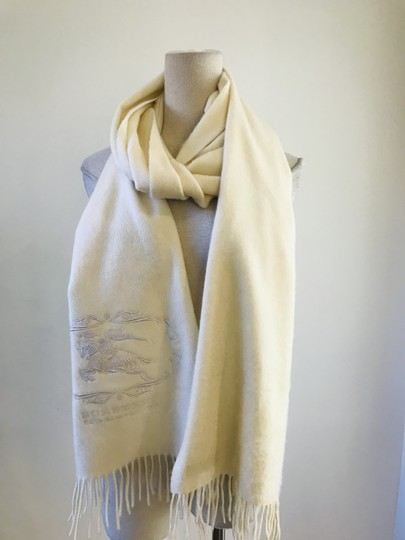 Burberry Embroidery cashmere scarf Image 5
