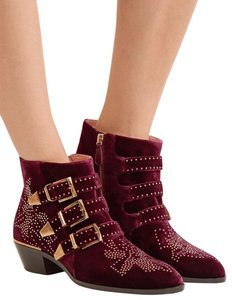 Chloé red Boots