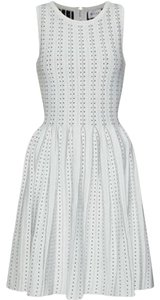 MILLY short dress White Pleated on Tradesy