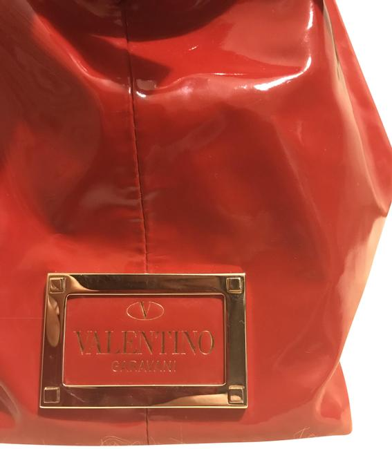Item - Purse Red Patent Leather Hobo Bag