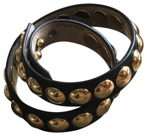 Burberry Burberry Studded Leather wrap