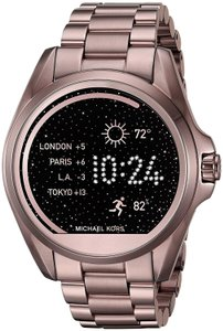 Michael Kors Michael Kors Unisex Bradshaw Sable Ion-Plated Smart Watch  MKT5007 e9a175516c