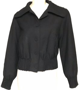NICOLE FARHI Motorcycle Jacket