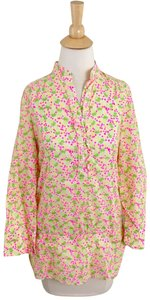 Lilly Pulitzer Top White with print