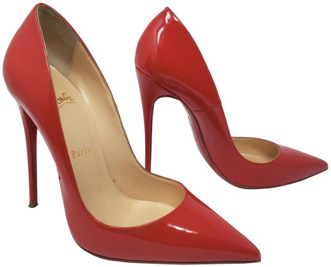 Christian Louboutin Red Patent Leather