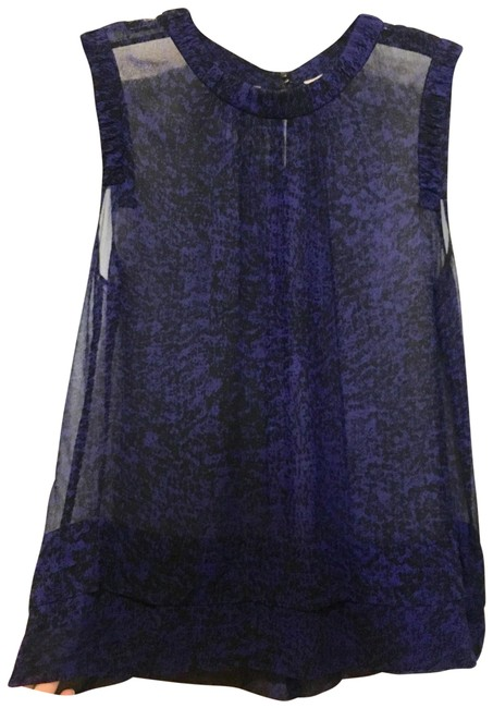 Preload https://img-static.tradesy.com/item/24842912/rebecca-taylor-purple-and-black-sheer-printed-silk-blouse-size-12-l-0-1-650-650.jpg