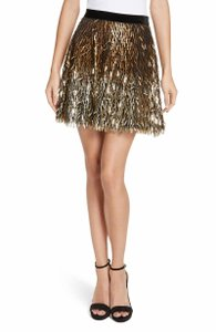 Alice + Olivia Skirt gold new with tag