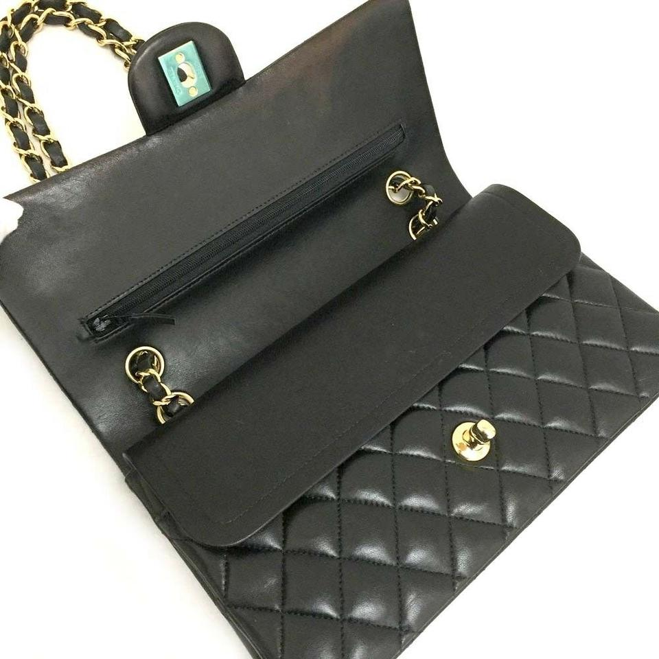 0e2fad5d55a40a Chanel Classic Double Flap New 2017 25 Quilted Cc Logo Lambskin ...