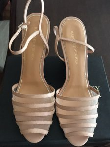 Badgley Mischka Blush Wedges