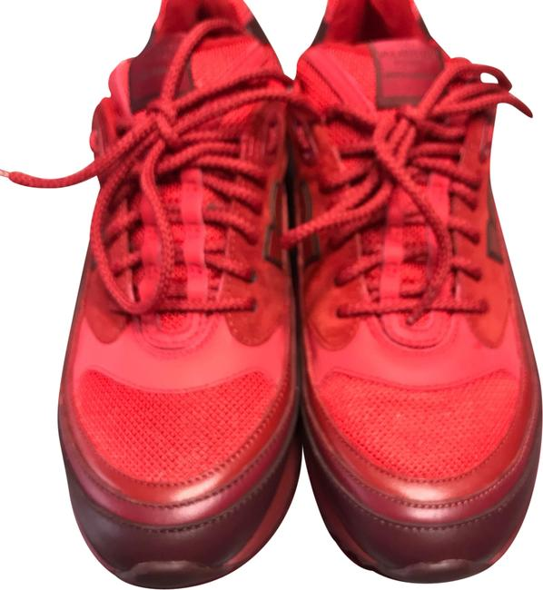 Item - Red Rouge Absolute Sneakers Size EU 37 (Approx. US 7) Regular (M, B)