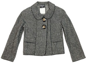 Chanel Fantasy Tweed Vintage Boucle black, white Blazer