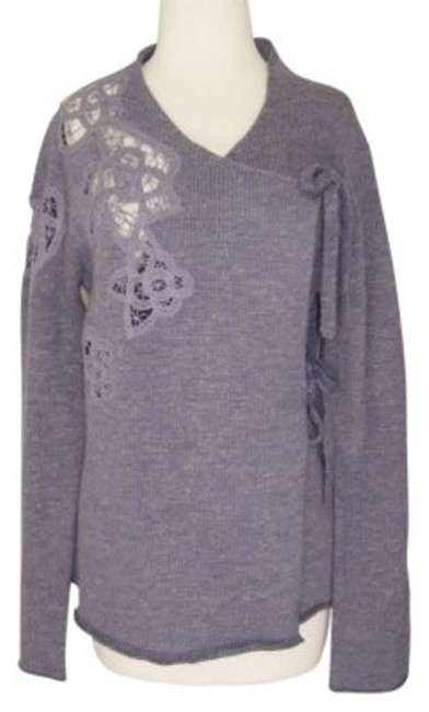 Preload https://img-static.tradesy.com/item/24844/anthropologie-lilac-frosted-panes-small-sweaterpullover-size-4-s-0-0-650-650.jpg