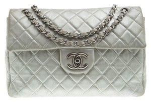 3fe2759aaa2d Added to Shopping Bag. Chanel Quilted Leather Classic Shoulder Bag. Chanel  Classic Flap Quilted Iridescent Maxi Classic Single Grey ...