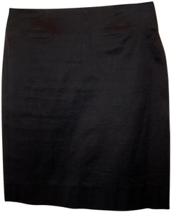 Claude Montana Straight Stretchy Skirt Black