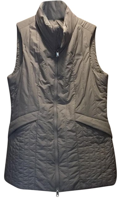 Item - Taupe Puffy Vest Size 12 (L)