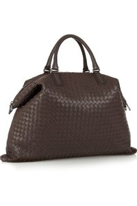 Bottega Veneta Leather Brown Travel Bag