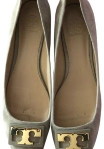 Tory Burch dove grey Pumps