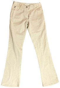 Prada Boot Cut Pants tan