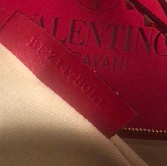 Valentino Red Clutch Image 6